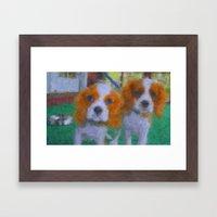The Pups Framed Art Print