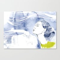 Seacret 1 Canvas Print