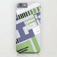 iPhone & iPod Case featuring Leger Ballet Mechanique by Miss Baker
