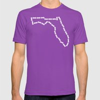 Ride Statewide - Florida Mens Fitted Tee Ultraviolet SMALL