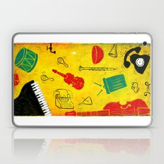 Music and Noise Laptop & iPad Skin