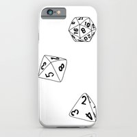 Dungeons and Dragons Dice iPhone 6 Slim Case
