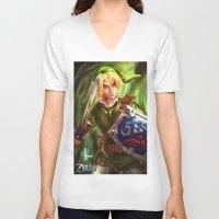 Link - Legend of Zelda Unisex V-Neck