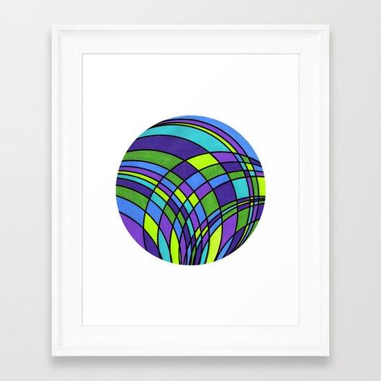 Circle Series #2 Framed Art Print