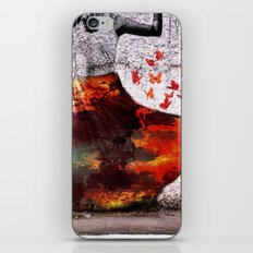 Flying Skirt iPhone & iPod Skin