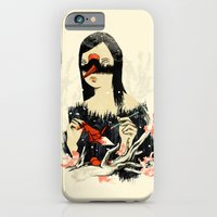 iPhone & iPod Case featuring The Crane Wife by Budi Kwan