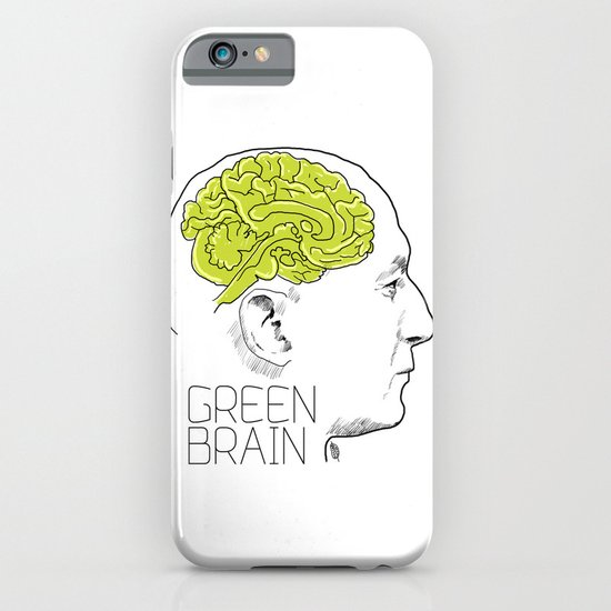GREEN BRAIN iPhone & iPod Case