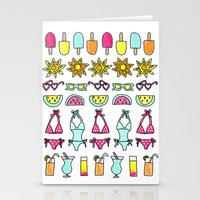 Summer Daze Stationery Cards