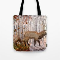 A Migration Through Time Tote Bag
