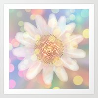 Birthday Flower Art Print