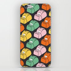 Hungry Hungry Pattern iPhone & iPod Skin