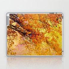 Autumn in paradise Laptop & iPad Skin