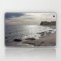 Seascape with stones Laptop & iPad Skin