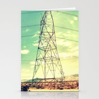 On the road to Vegas Stationery Cards