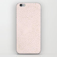 Dotted Gold & Pink iPhone & iPod Skin