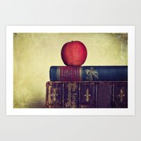 books Art Prints featuring Books by Lawson Images