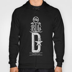 The Big D (wht) Hoody