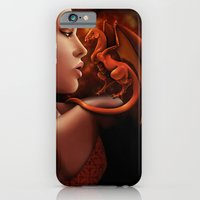 Fire Lily iPhone 6 Slim Case