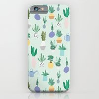 Plant pot Pattern iPhone 6 Slim Case