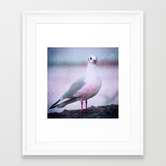 SONGS OF A BIRD I Framed Art Print