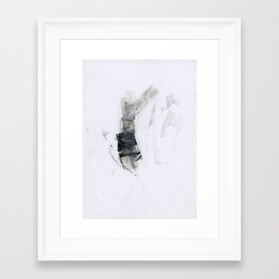 93 Framed Art Print