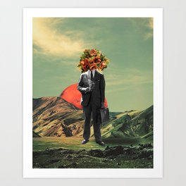 Art Print - Business As Usual - TRASH RIOT