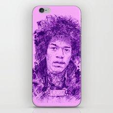 27 Club - Hendrix iPhone & iPod Skin