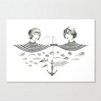 Twins 1 Canvas Print