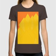 T-shirt featuring Colorful Yellow Abstract… by ANoelleJay