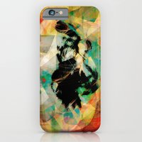iPhone Cases featuring Around the Bend - There She Hangs by Guillermo de Llera