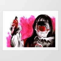 Screams Coming From Upst… Art Print
