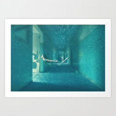 Haunted Water Art Print