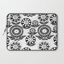 Circular Flower Laptop Sleeve