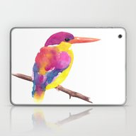 Rufous-backed Kingfisher Laptop & iPad Skin