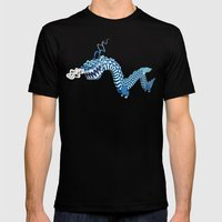 Dragon-Air Mens Fitted Tee Black SMALL
