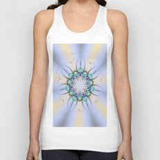 Fern Kaleidoscope Unisex Tank Top