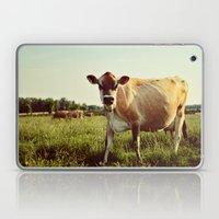jersey cow Laptop & iPad Skin