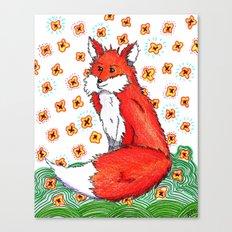 Phone or Fox Canvas Print