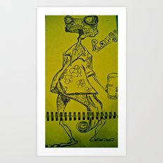 Rango Art Print