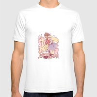 Princess Princess Mens Fitted Tee White SMALL