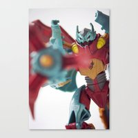 Unquestionably loyal to the cause Canvas Print