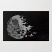 Death Star Canvas Print