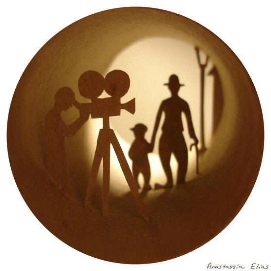 "Charlie Chaplin ""The Kid"" (Charlie Chaplin ""Le Kid"") Art Print"