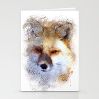 Vulpini Stationery Cards