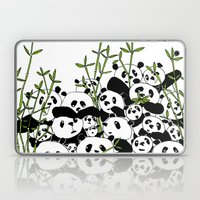 A Pandemonium Of Pandas  Laptop & iPad Skin