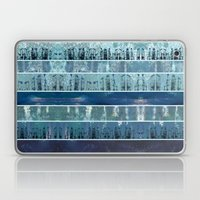 Abstract Sea City Laptop & iPad Skin
