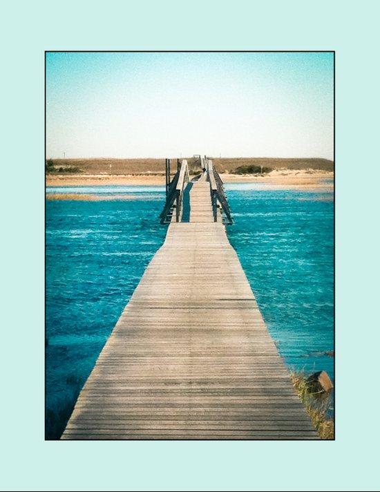 Boardwalk in Sandwich, Massachusetts Art Print
