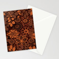 Browns of Fall Stationery Cards