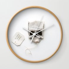 253. Tea Bag Skull Wall Clock