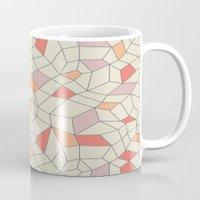Mod Colorblock Mesh Mug